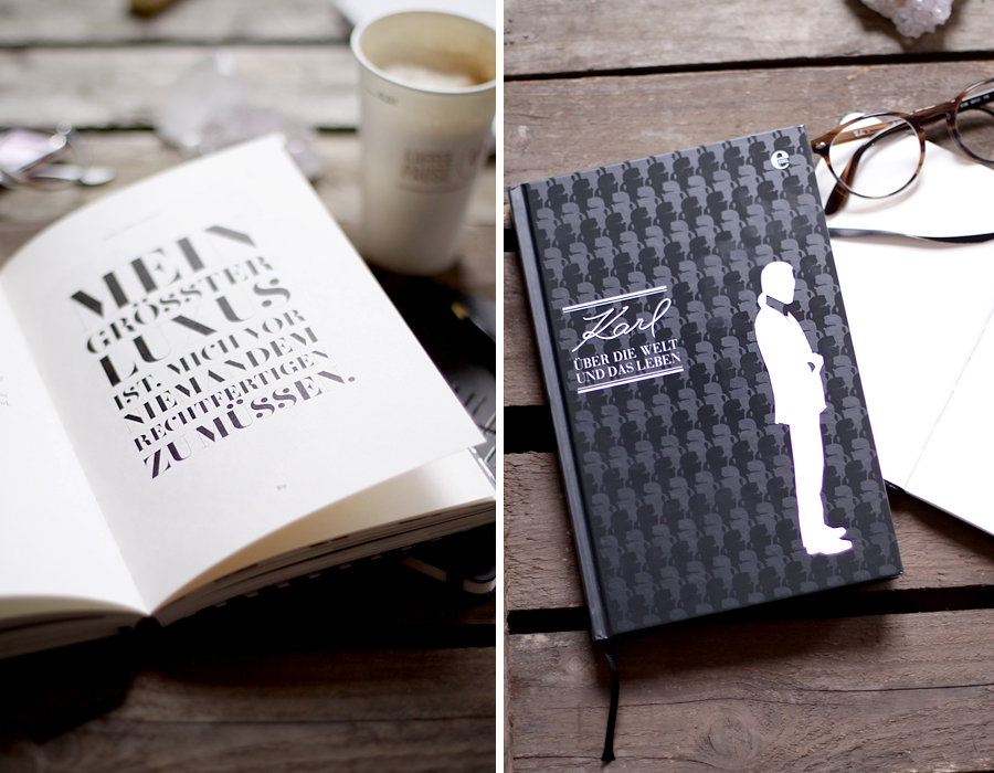 Thalia Bücher lifestyle post notebook notitzbuch karl lagerfeld über die welt und das leben buch bücher lesen read reading books morning monday inspiration think love blogger ricarda schernus berlin hannover blogger 5