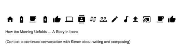 Story in Icons