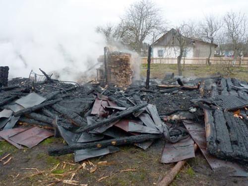 Будинок згорів разом з людьми