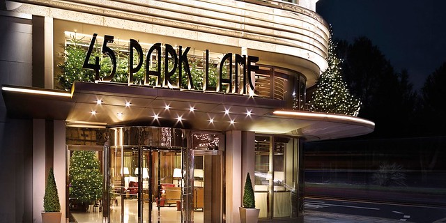 Dorchester's 45 Park Lane – festivities with a contemporary touch