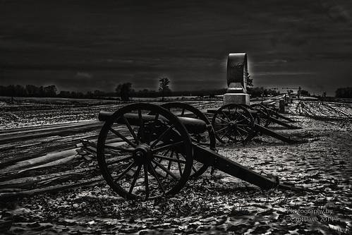 Iron Brigade's 3-Inch Ordnance Rifle's McPherson Ridge Gettysburg, PA Gradient HDR