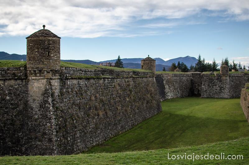 fortaleza de Jaca en la Jacetania