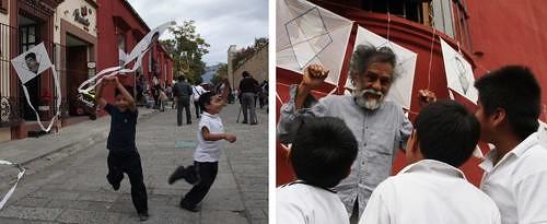 """""""A los de Ayotzinapa podemos buscarlos en el aire"""""""