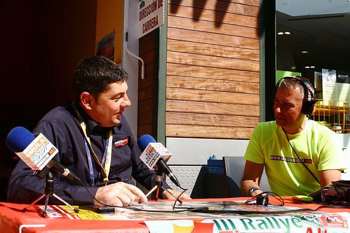 Cadena Azul y Formula Motor radio oficial Rally Lorca 2015