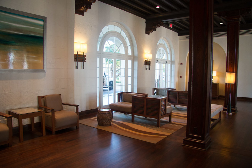 Lobby at Casa Marina Key West