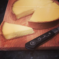 The Lemon tart, hope the wife