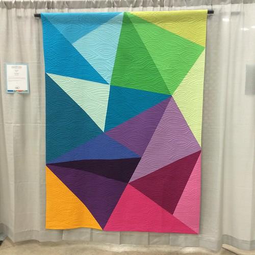 Fractured Triangles by Paula Leber (Meriam, Kansas)