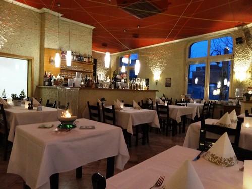 Restaurant Scharf Harburg Gastraum