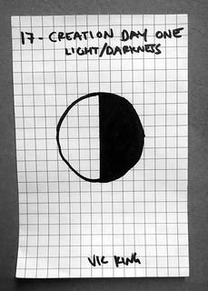 Creation Day 1 - Light / Darkness