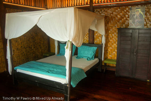Indonesia - Sumba - Tarimbang - Peter's Magic Paradise - Double bed room
