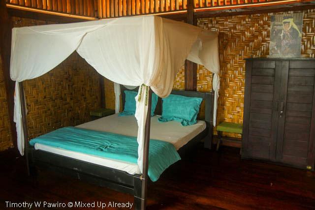 Indonesia - Sumba - Tarimbang - Peter's Magic Paradise - Double bed room