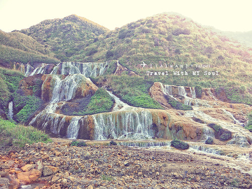 [Taiwan-Taipei] The Golden Waterfall 黄金瀑布