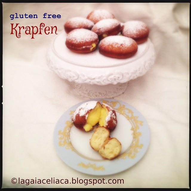 Gluten free krapfen