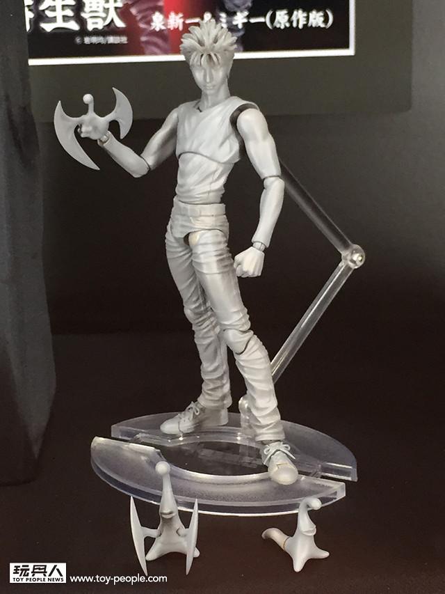 「超像可動」宣佈將推出《寄生獸》系列主題人偶