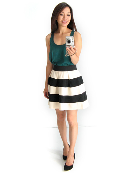Stripe Skirt from ModCloth