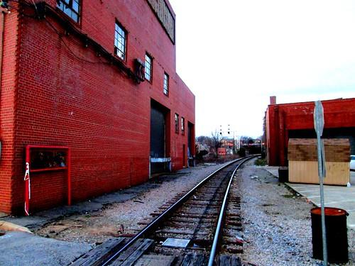 Train Tracks by W. Martin Street ~ Raleigh, NC