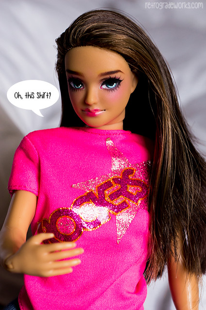 Custom Lammily Doll Repaint