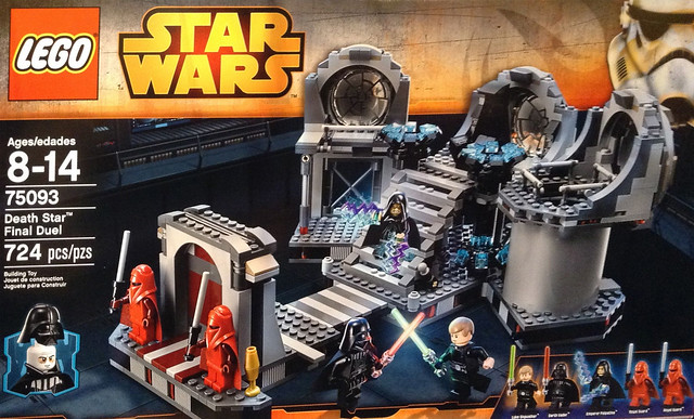 LEGO Star Wars 75093 - Death Star Final Duel