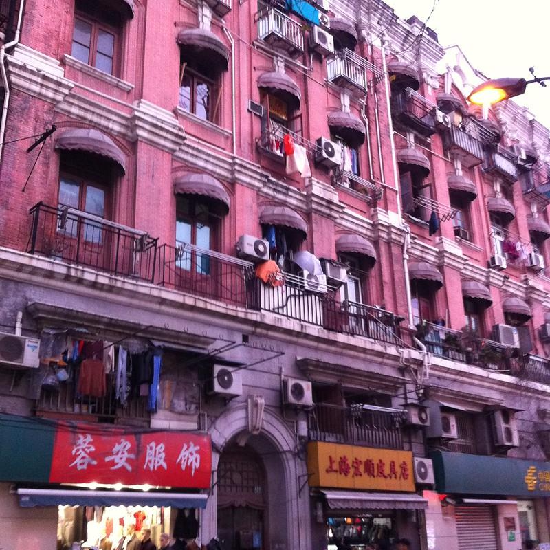 vieux bâtiments du début du 20ème siécle , quartier de Hongkou