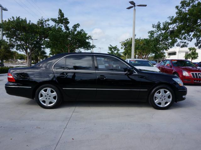 2005 Lexus LS430 - Black/Ash - 41,576 miles - Delray Beach