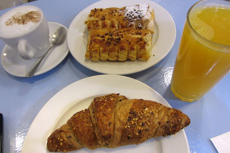 Pastry breakfast