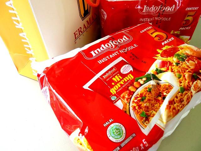 Indonesian mi goreng