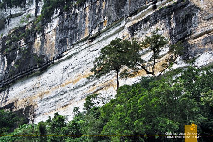 Siitan Gorge in Nagtipunan, Quirino
