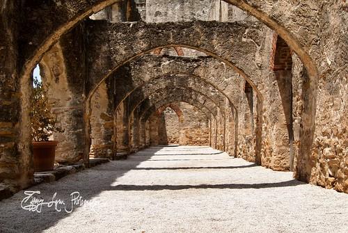 Archway at San Juan Mission