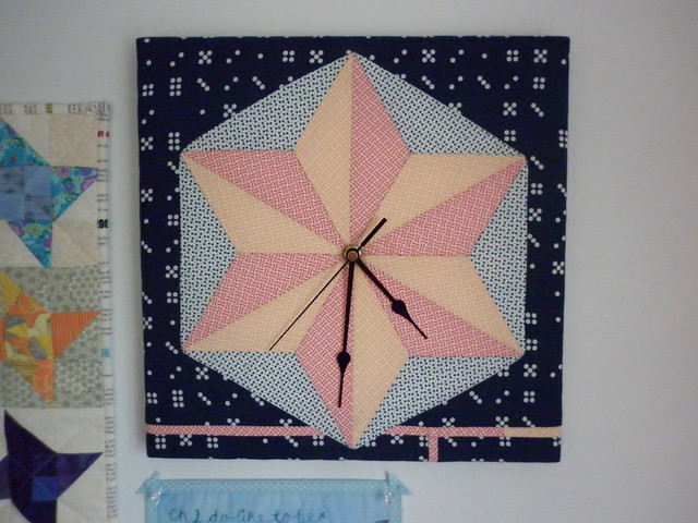 Patchwork clock