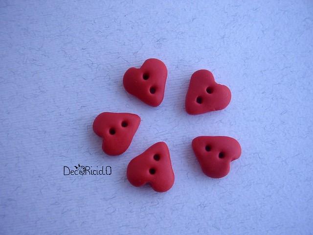 bottoni handmade cuori 1