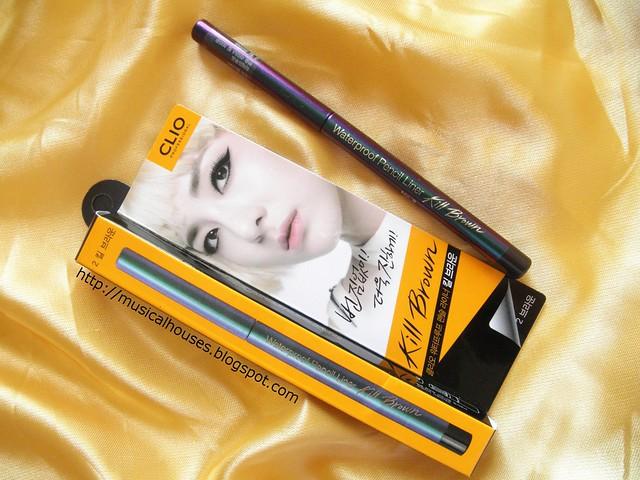Clio Eyeliners Waterproof, Pencil Eyeliner