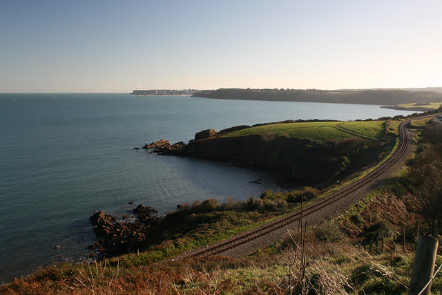 The devon coast near Broadsands