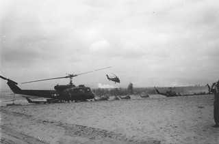 Helicopter Staging Port, Operation Double Eagle, 1966