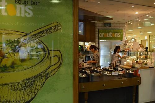 Croutons Soup Bar