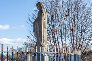 THE MARIAN STATUE IN BROADSTONE REF -101631