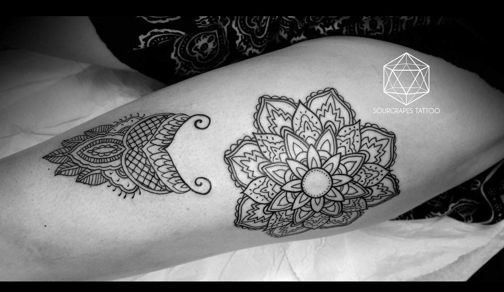 Mehndi Wolf Tattoo : Tattoo studio s most interesting flickr photos picssr
