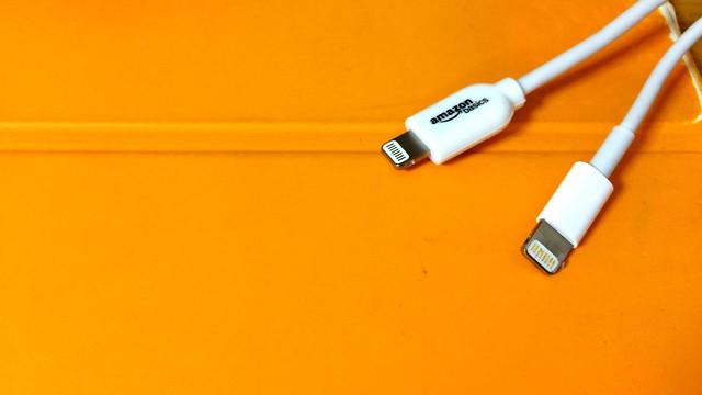 Amazonベーシック Apple認証 (Made for iPhone取得) ライトニングUSBケーブル 約90cm ホワイト