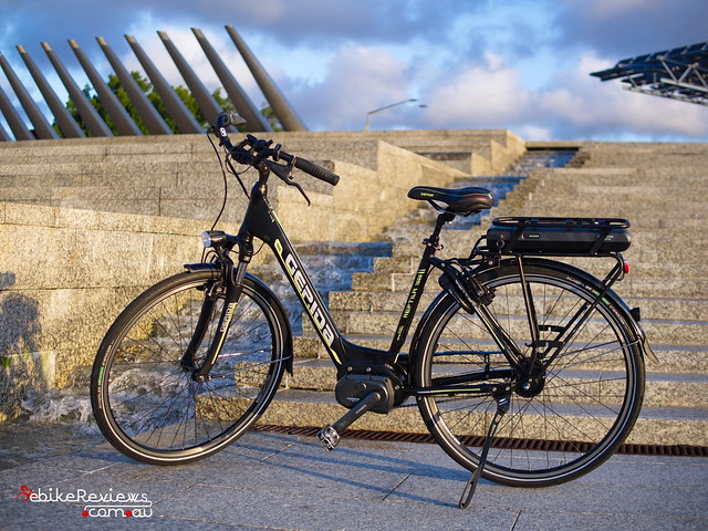 "Gepida Reptila (equipped with Shimano STEPS) • <a style=""font-size:0.8em;"" href=""https://www.flickr.com/photos/ebikereviews/16736362821/"" target=""_blank"">View on Flickr</a>"