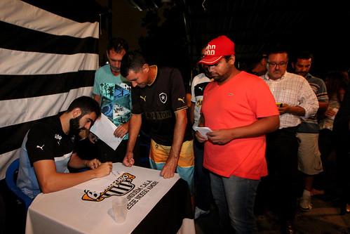 Sessao Autografos Botafogo