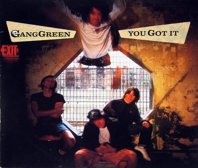 """Gang Green You Got It 12"""" Vinyl LP"""