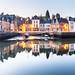 Early morning mirror on Saint-Goustan in Brittany by Loïc Lagarde