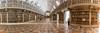 Bibliothèque du palácio nacional de Mafra (Portugal)