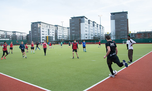 Social Football on the astro pitch