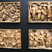 A Set of Late Roman Ivory Casket Panel Depicting the Death and Resurrection of Christ by Ancient Art & Numismatics