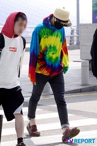 GD Incheon Airport Seoul on the way to LA 18 04 2014 (3)