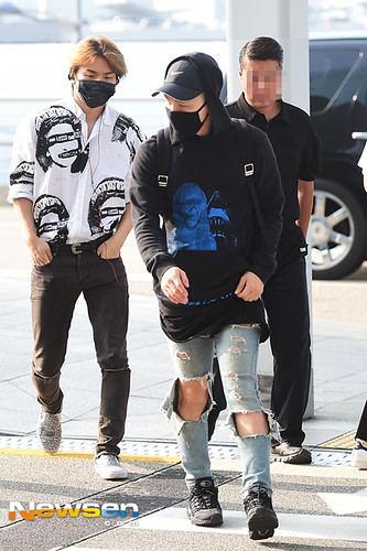 Big Bang - Incheon Airport - 07aug2015 - Newsen - 02