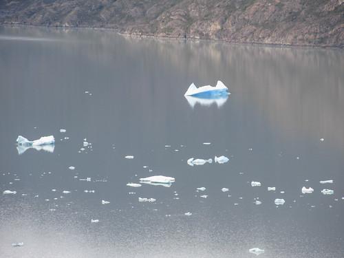 Torres del Paine: trek du W. Jour 4: le lago Grey et ses icebergs. Oh un iceberg Batman ;)