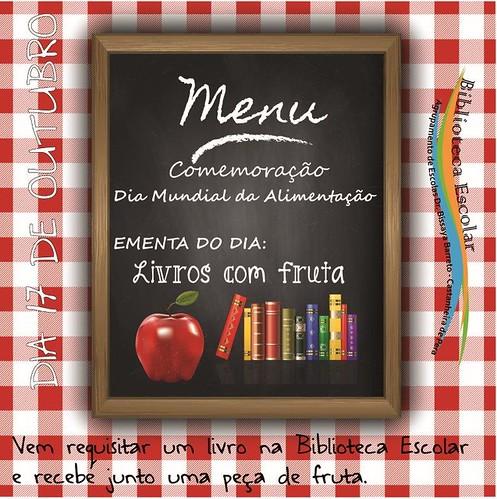 Dia Mundial da Alimentação - Livros com Fruta-01