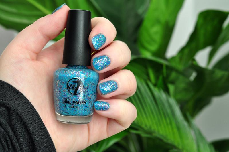 notd w7 mosaic nail polish rottenotter rotten otter blog