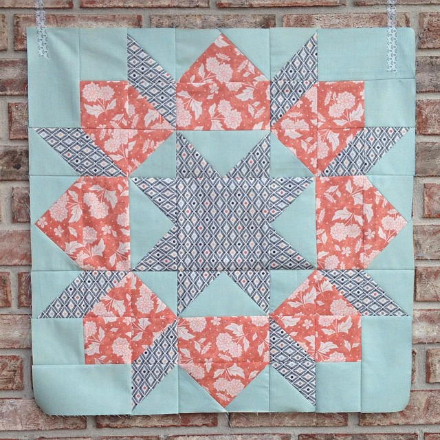 Swoon block no. 8 done...now 4 to go. 😊It's getting harder to pick a favorite!